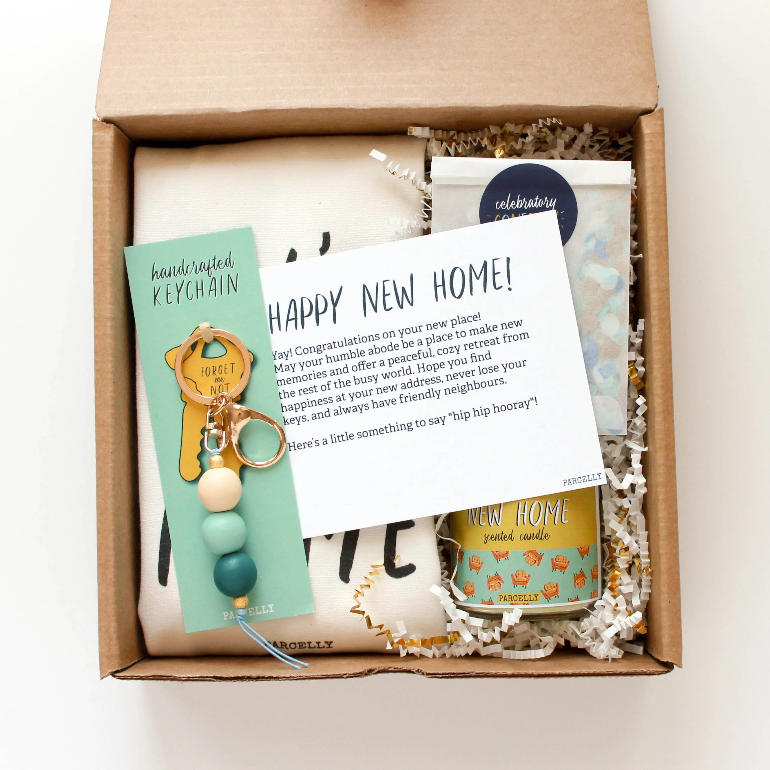 Personalized House Warming Gift Personalized Housewarming Gift Basket Real Estate Closing
