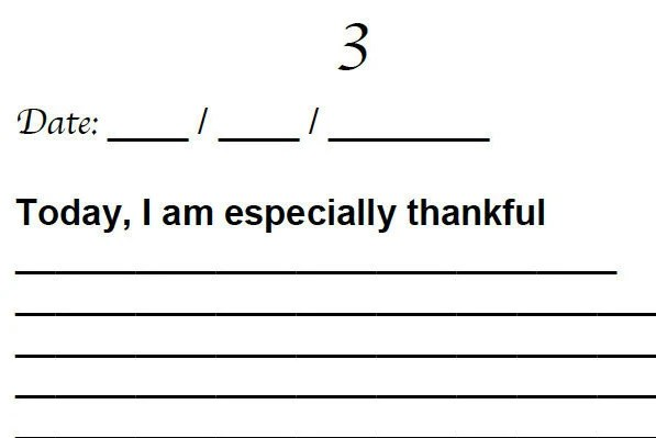 Gratitude Journal Printable Journal Prompts Counting Etsy