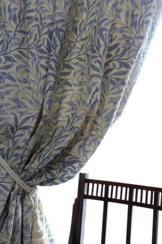 China Blue Curtains William Morris Curtains Willow Bough Major China Blue 90