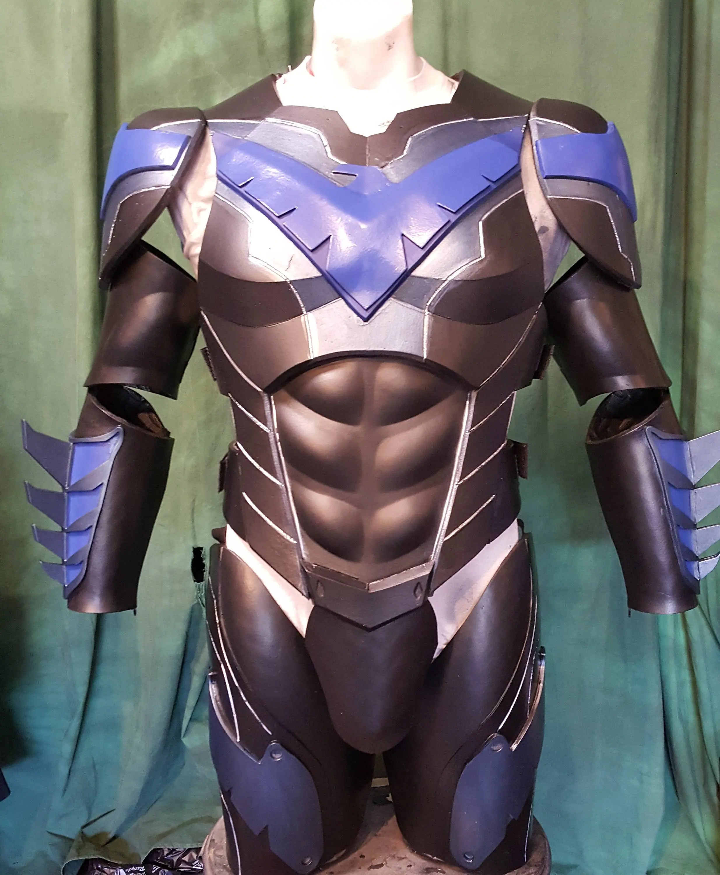 NightWlng complete foam armor TEMPLATES Etsy