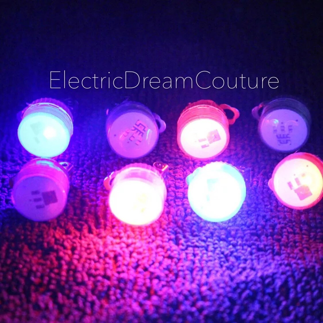 Led Earrings Led Earrings Glow Earrings Clip On Light Up Earrings For Raves Music Festivals Edc Ultra Clubbing Parties