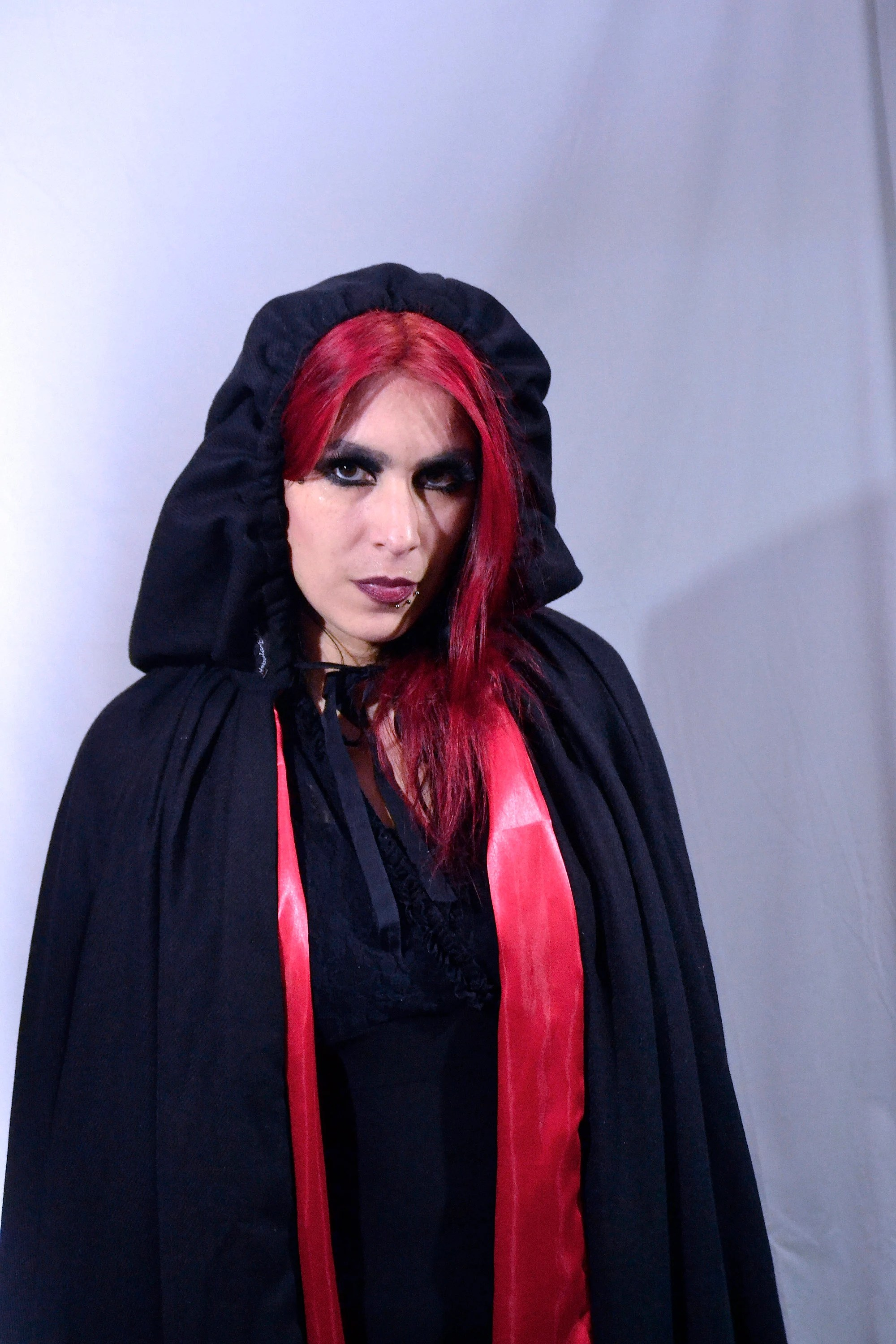 Berlin Gothic Cape Rococo Middle Ages Red Riding Hood Larp Gothic Mystic Witch Coachle Unisex Burlesque