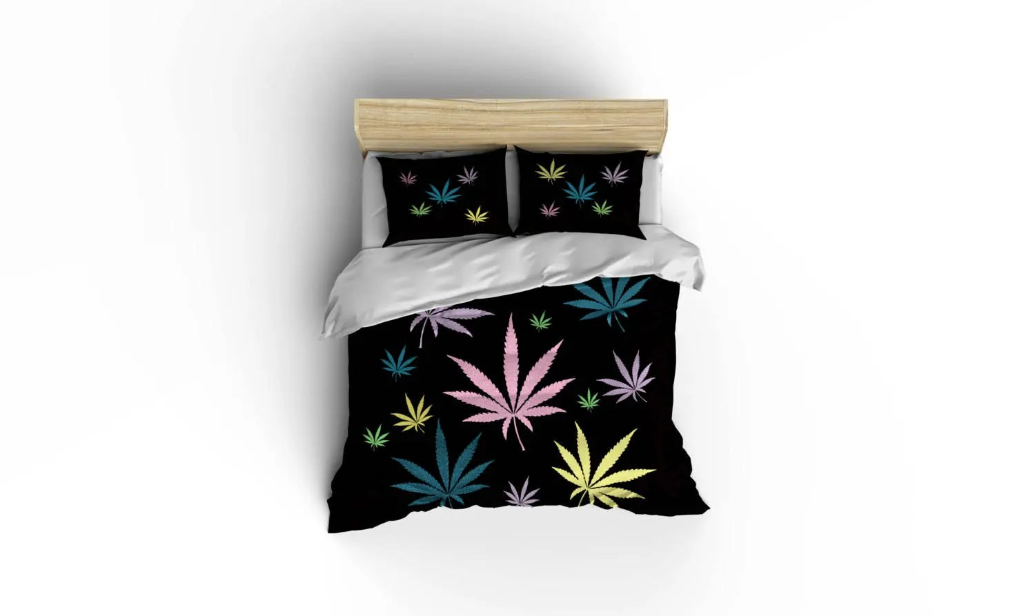 Weed Bettwäsche Cannabis Duvet Covers Marijuana Duvet Cover Bed And Bath Cannabis Bedding Legalize It Bedding 420 Friendly Weed Duvet Ganja Bedding