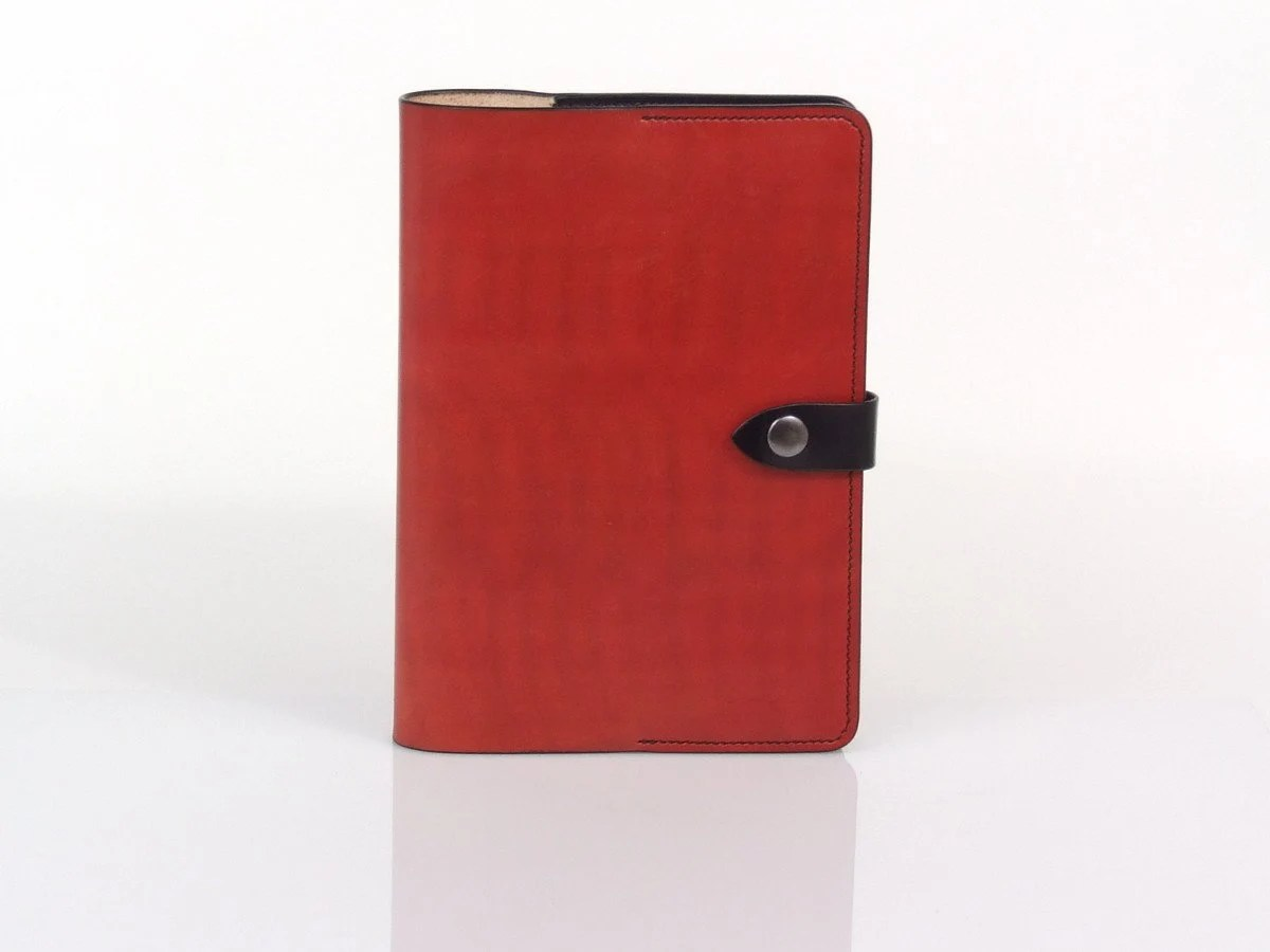 Moleskine A5 Moleskine Notebook Red Leather Cover For A5 Notebook