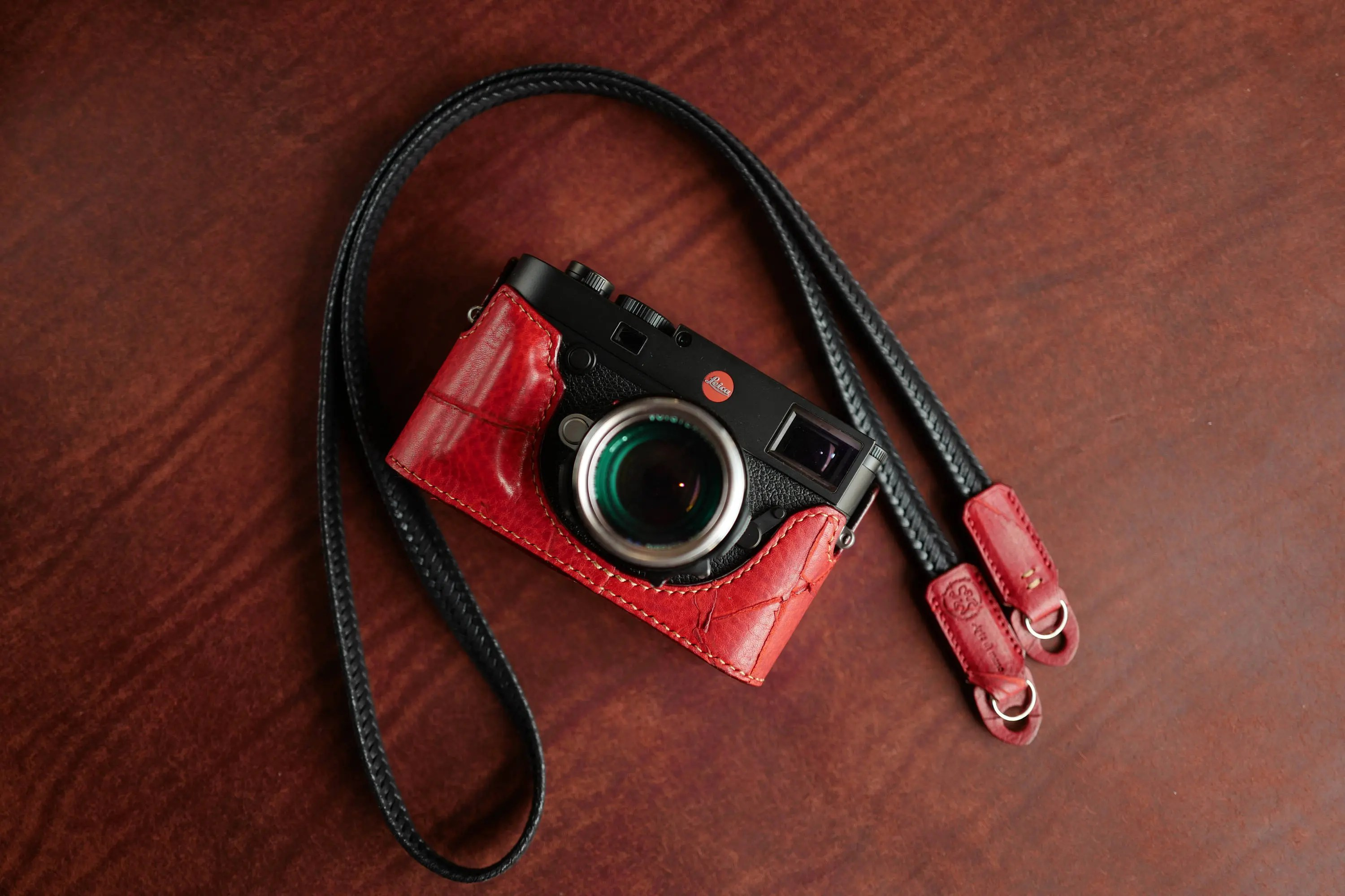 Arte Di Mano Half Case Arte Di Mano Half Case For Leica M10 Battery Door Type