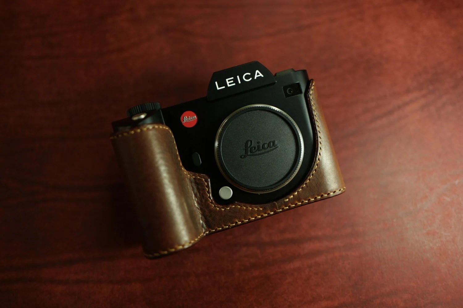 Arte Di Mano Half Case Arte Di Mano Half Case For Leica Sl Battery Access Door Type