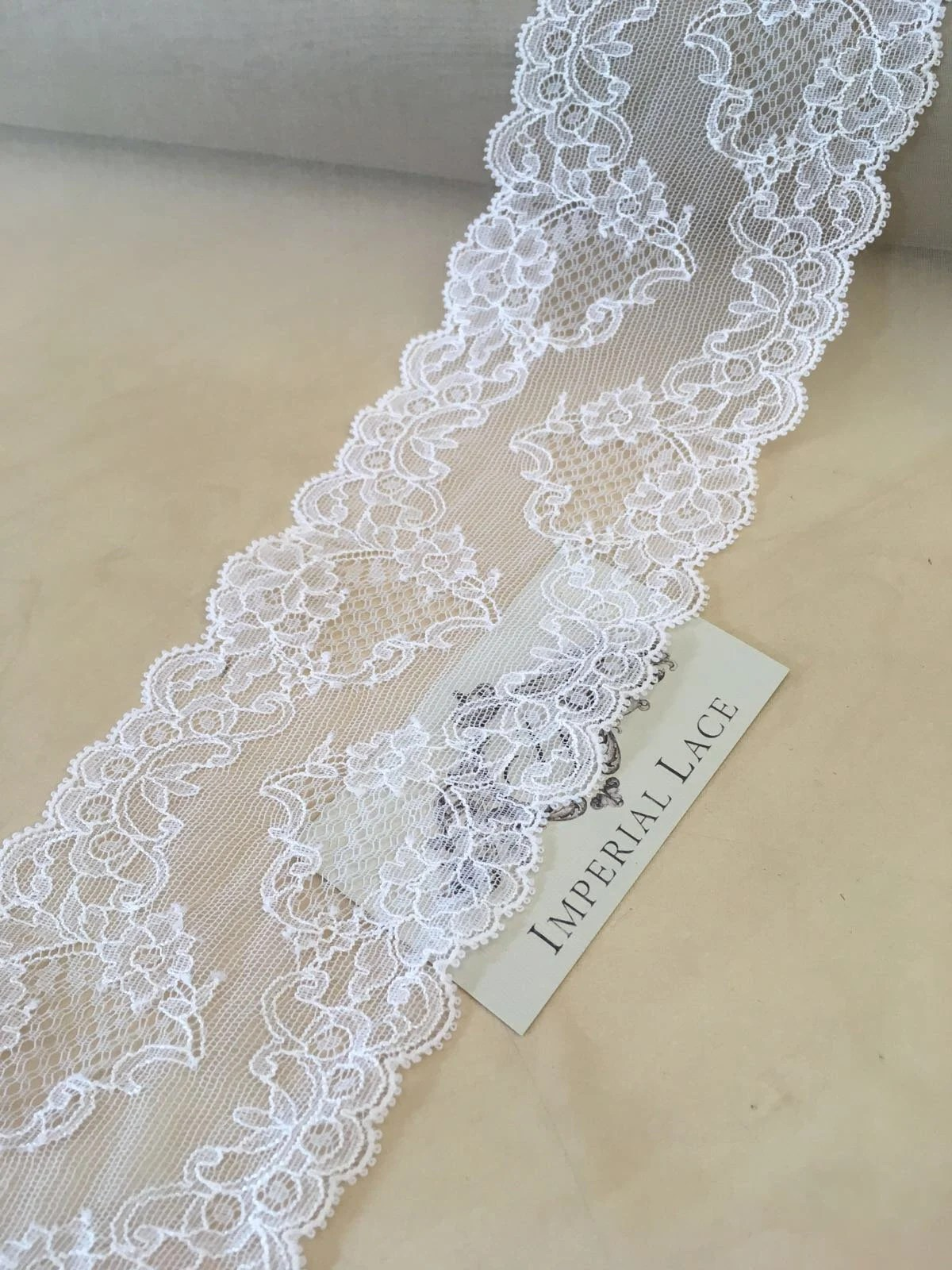 Stoff Spitze White Lace Trimming Chantilly Lace Trim Spitze Stoff Lace Fabric Bridal Lace Fabric Lace Trim White Lace Trim Mb00193