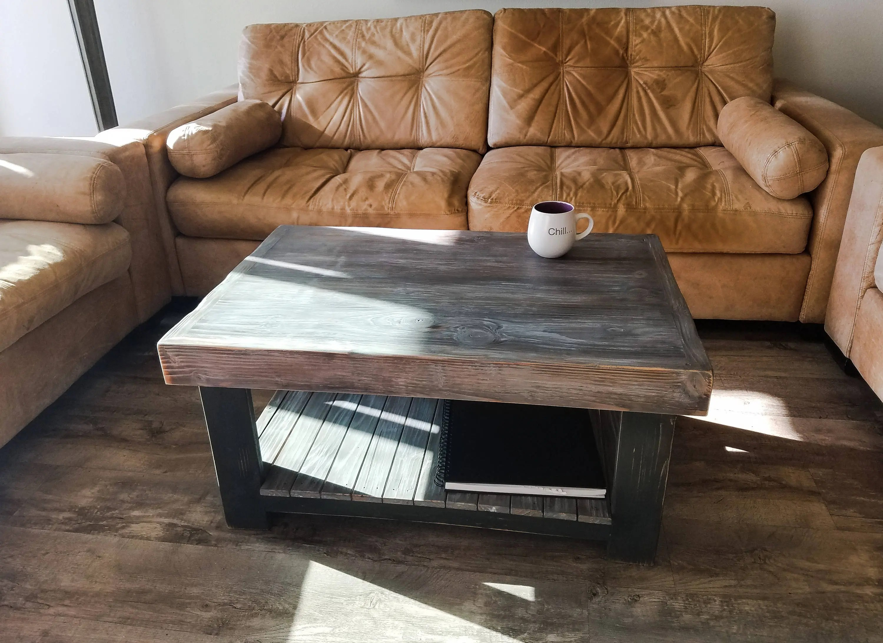 Rustic Beach Coffee Table Gray Wood Coffee Table Rustic Table Beach Table Weathered