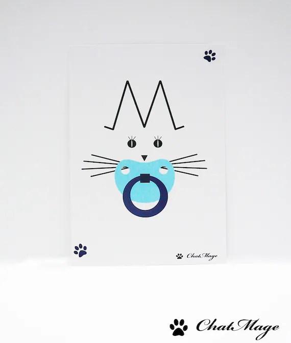 Set postcards 2 postcard cat postcard baby boy baby Etsy