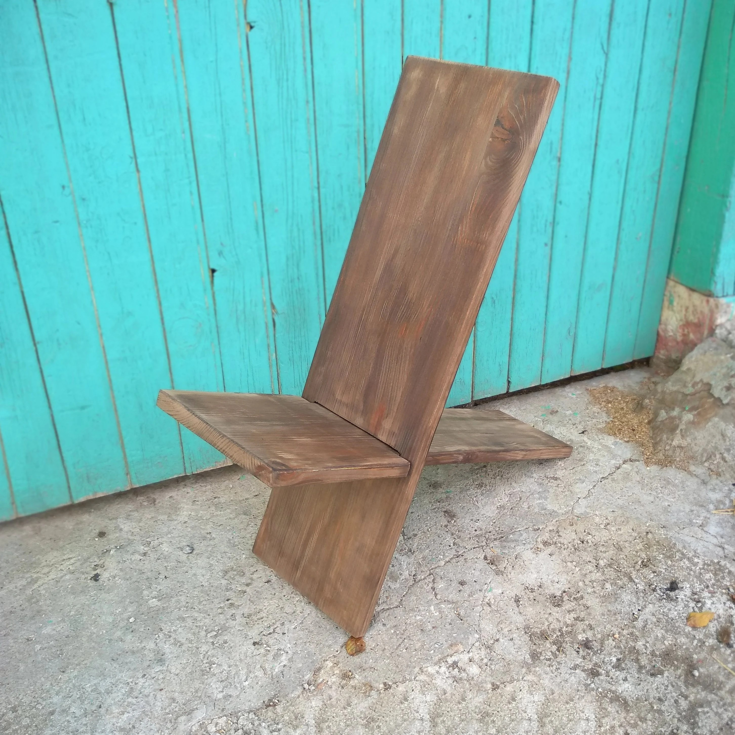 Alter Holzstuhl Garten Viking Chair Stargazer Chair Foldable Wooden Chair Two Piece Garden Furniture Holzstuhl Camp Chair Rustic Yard Chair