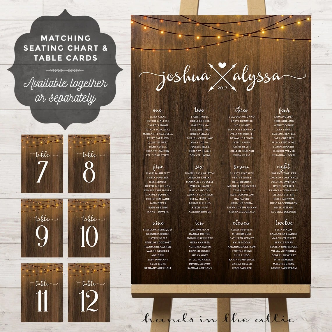 Table assignment board wedding reception seating chart ideas Etsy