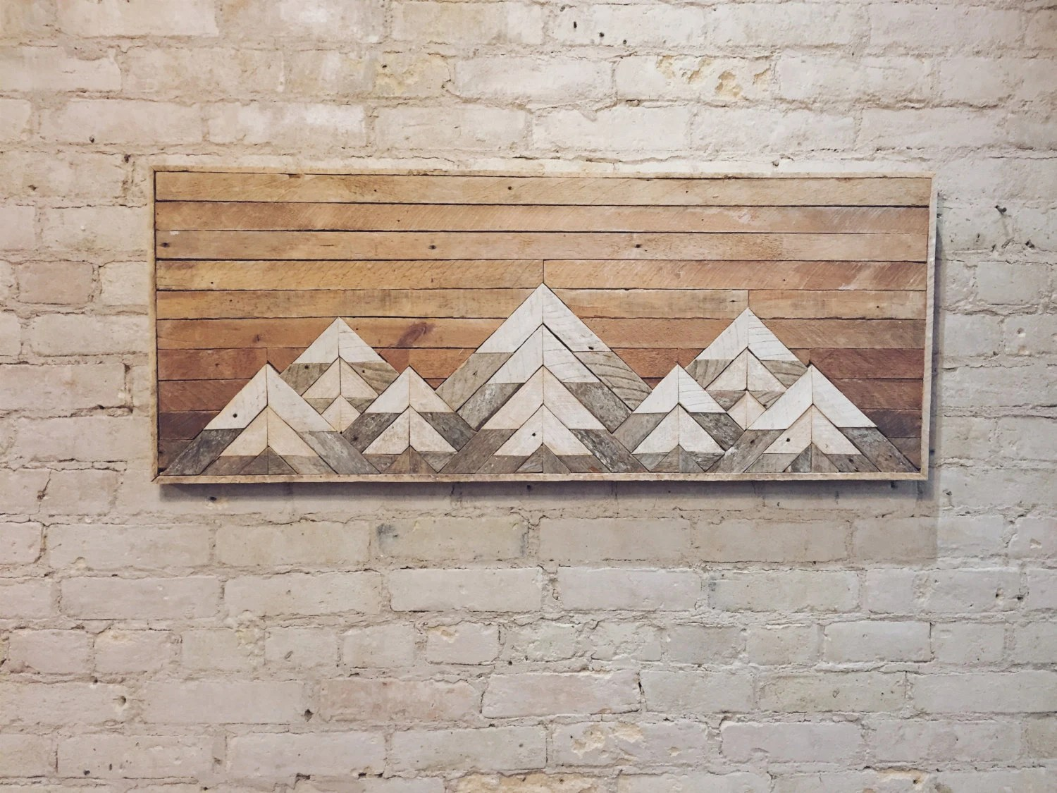 Art Wall Reclaimed Wood Wall Art Wall Decor Twin Headboard Lath