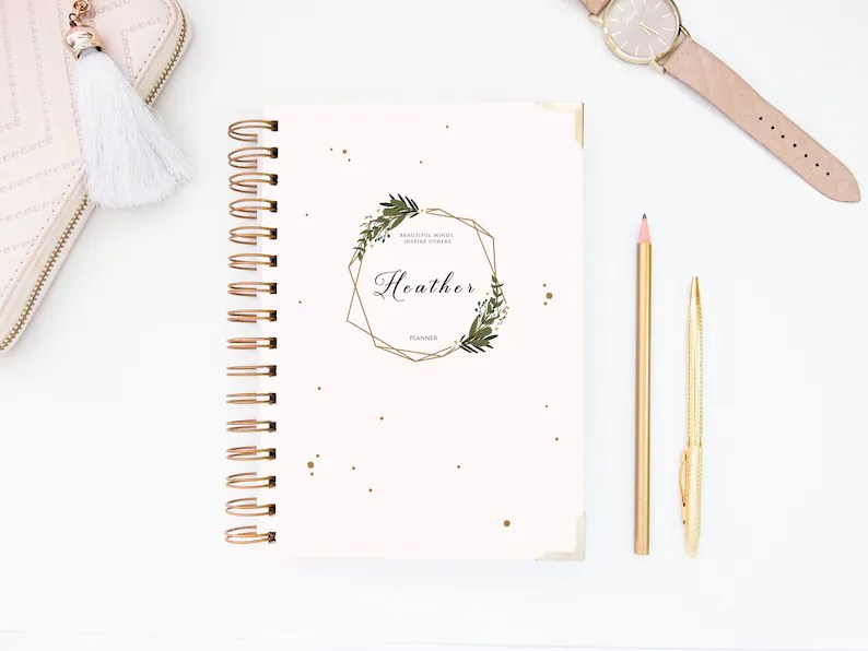 2019 Daily Planner Day Planner 2019 Planner A5 Planner 2019 Etsy