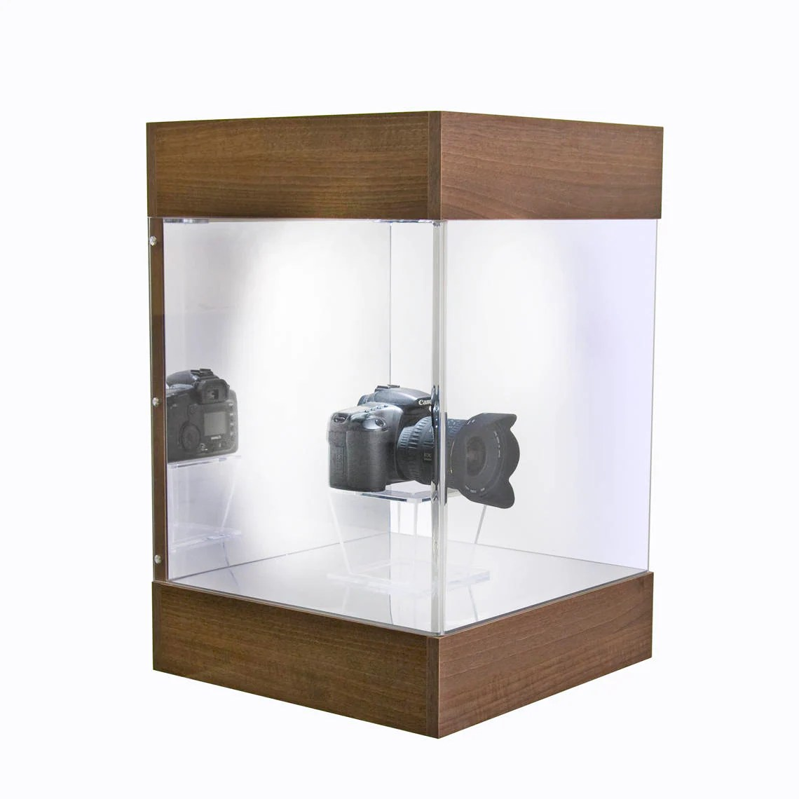 Wall Mounted Display Case Wall Mounting Retail Display Case Mounted Display Unit Made From Premium Wood Acrylic Manufactured In The Uk