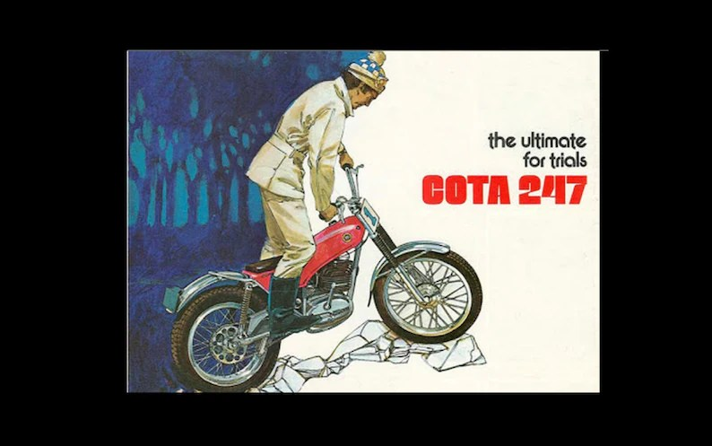 Montesa Cota 247 Parts Manual W Detailed Exploded Diagrams Etsy