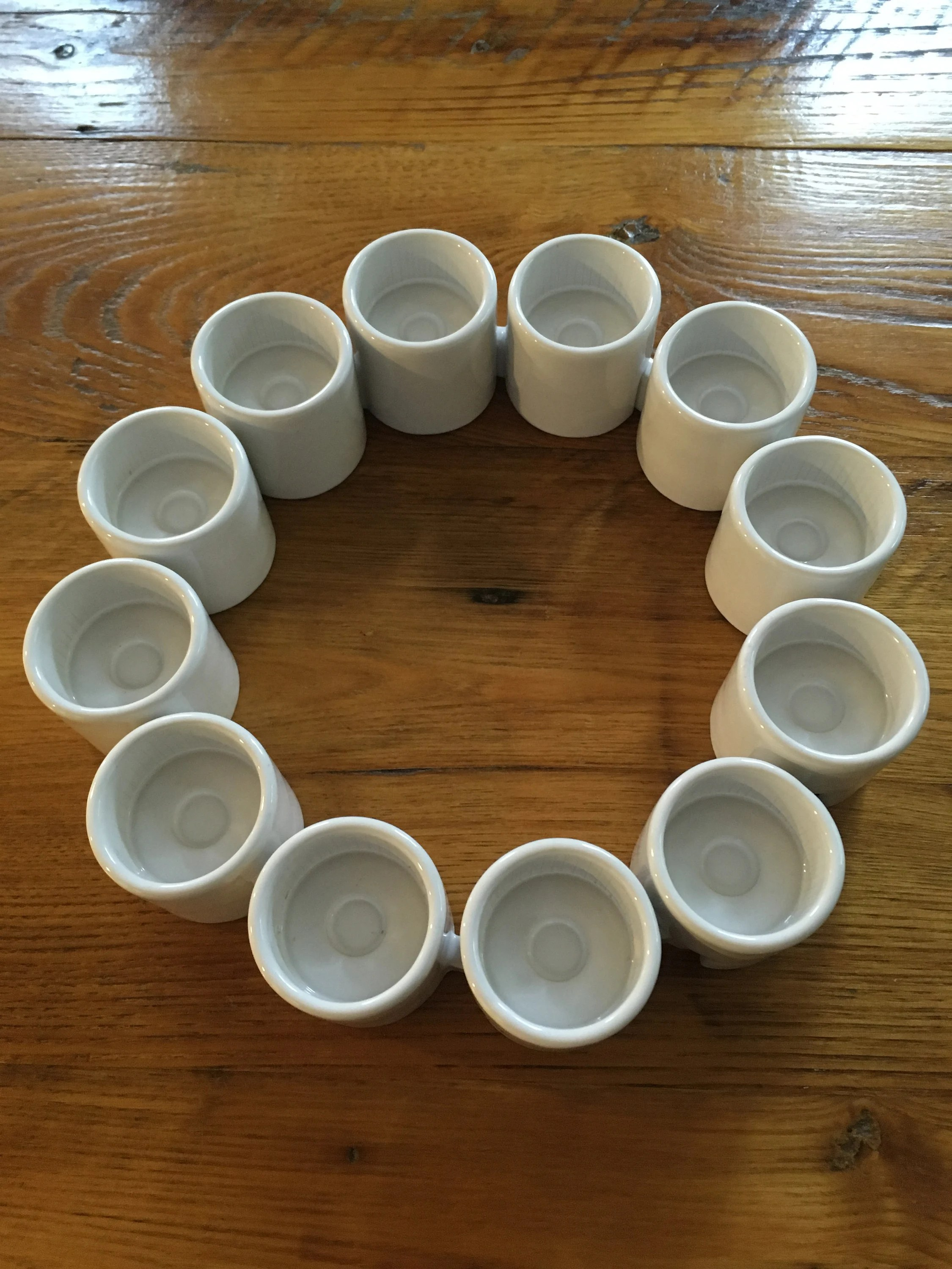 Ikea Box Holder Ikea Ehlen Johansson Candle Holder Varmeljushallare Set Of 12 Interlocking With Original Box