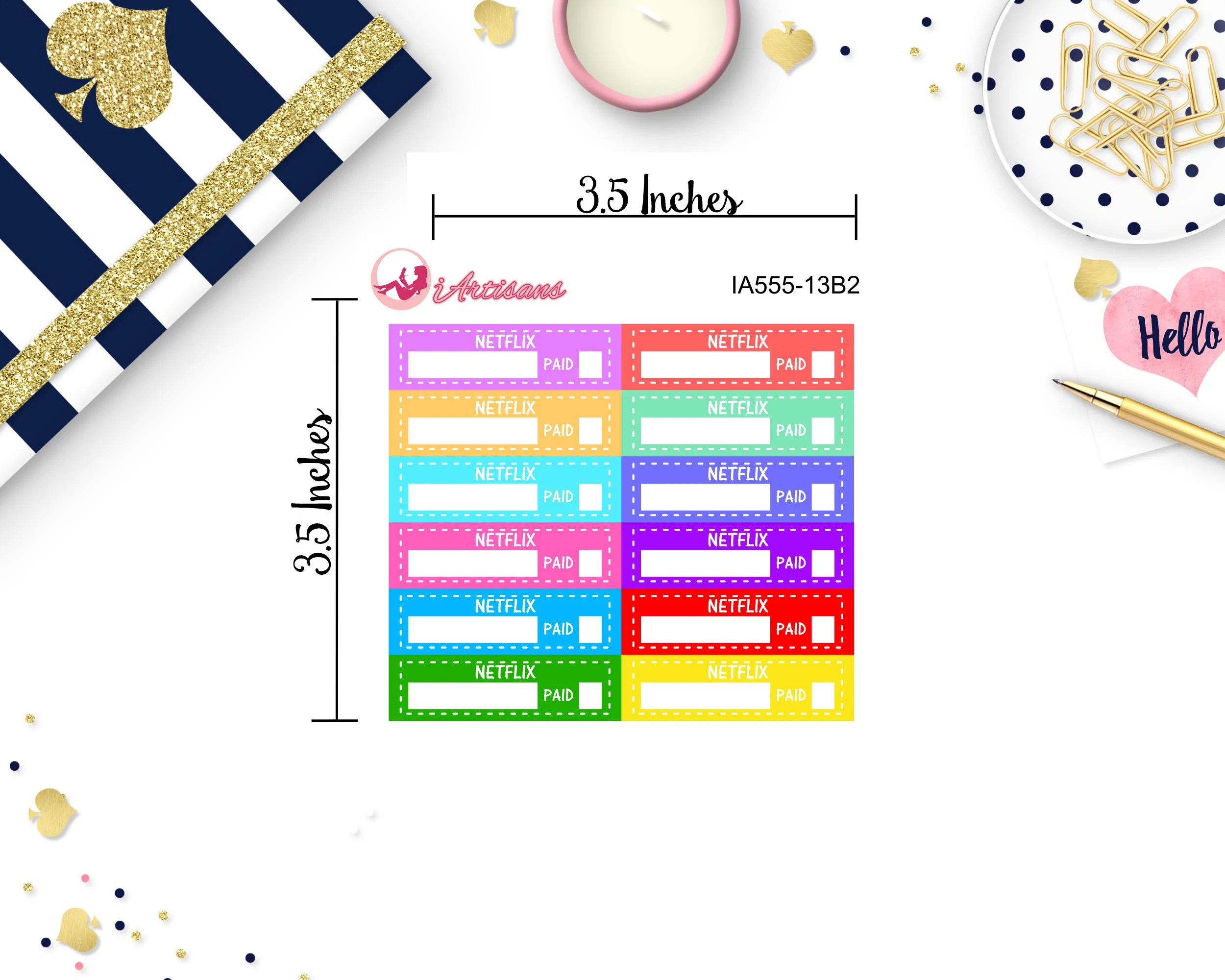 Netflix Planner Budget Stickers Budget Planning Spend Well Etsy - budget trackers