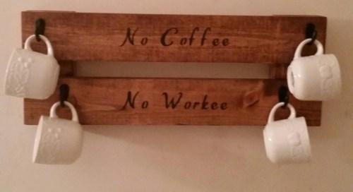 Medium Of Coffee Mug Rack