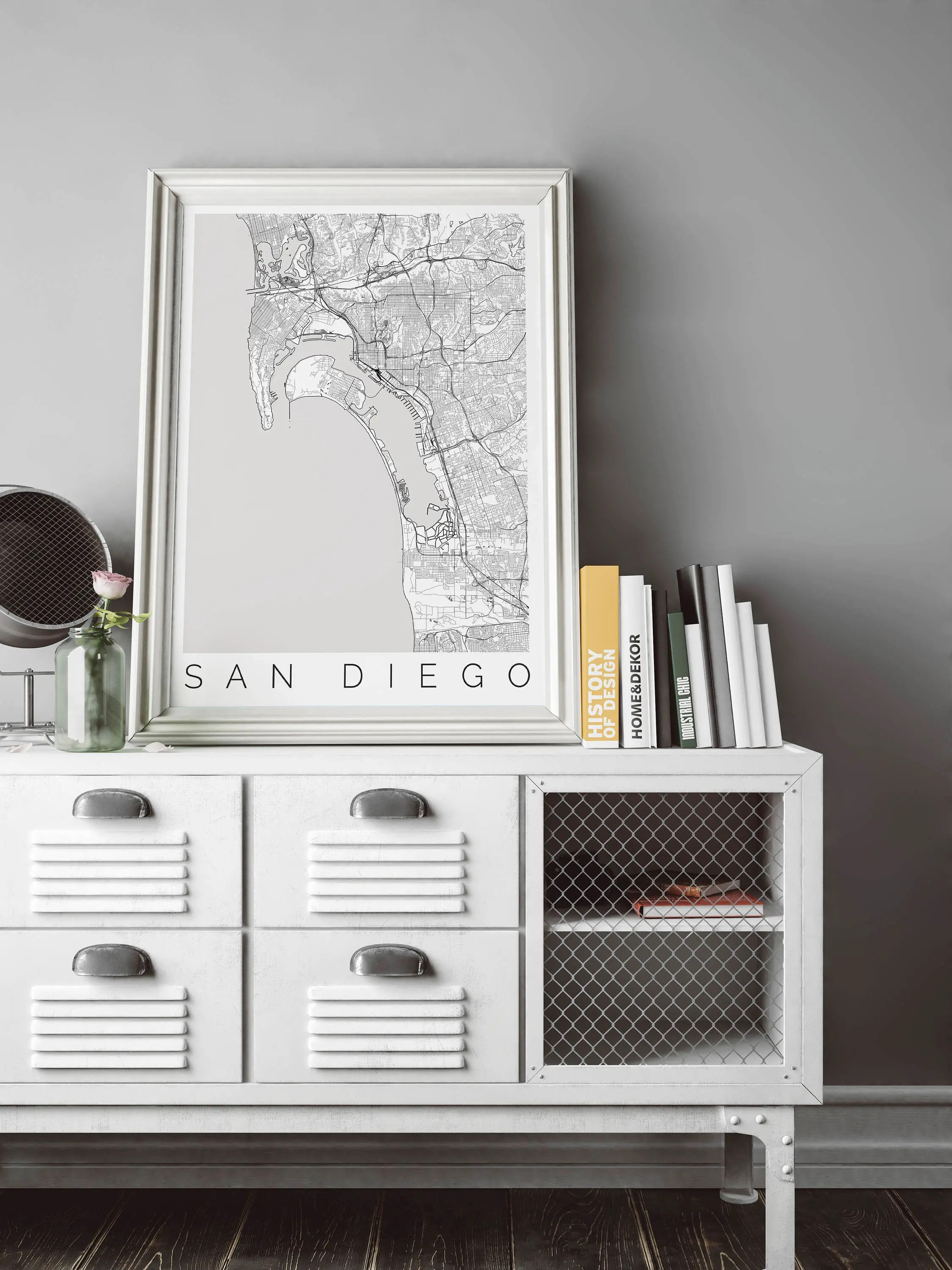 Ikea San Diego Hours Map Of San Diego Ca Fits Ikea Frame Home Decor Wall Art Wanderlust San Diego Print Travel Map Housewarming Long Distance Love