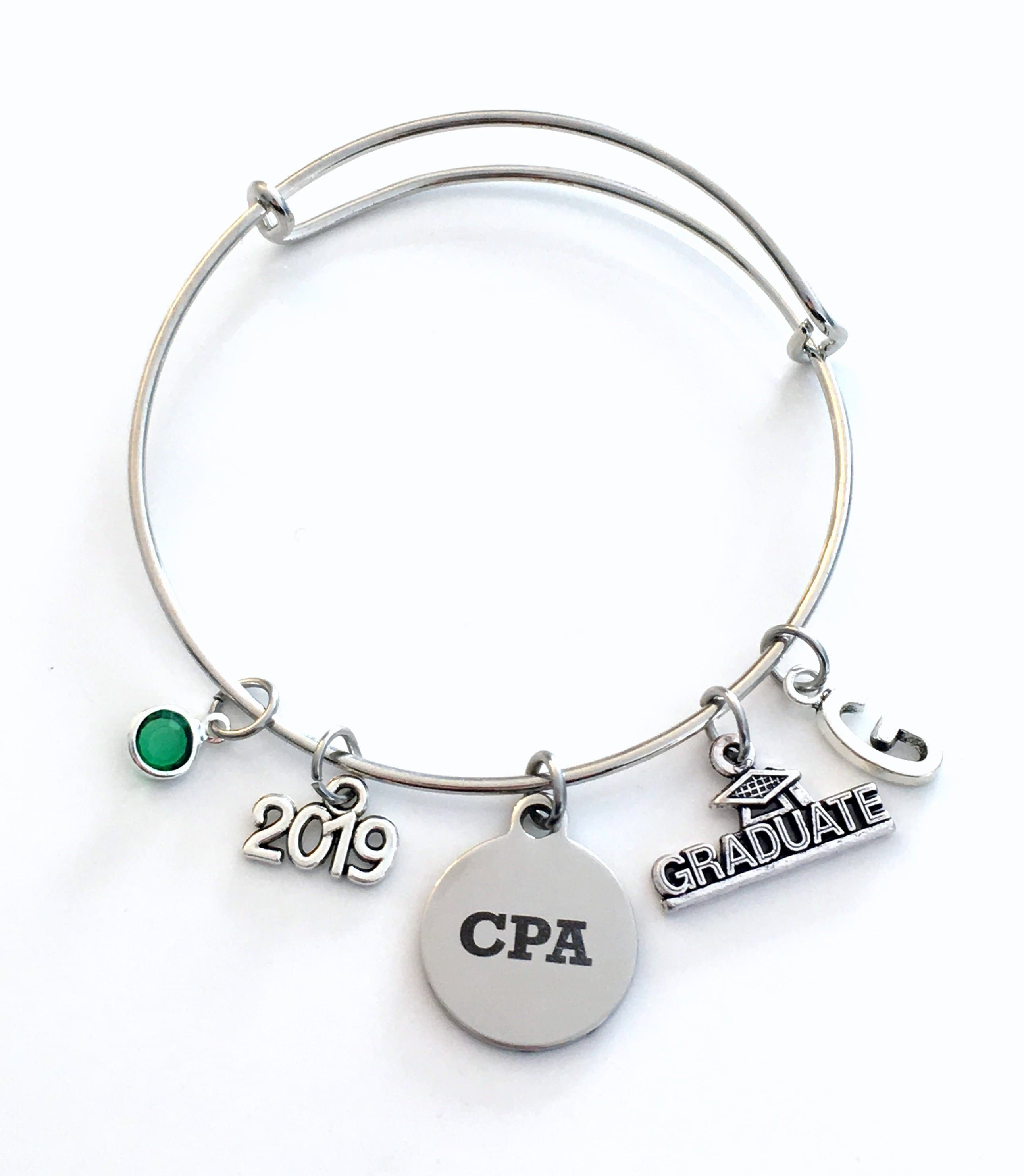 Chartered Accountant Cpa Graduation Gift For Cpa 2019 Charm Bracelet Chartered Accountant