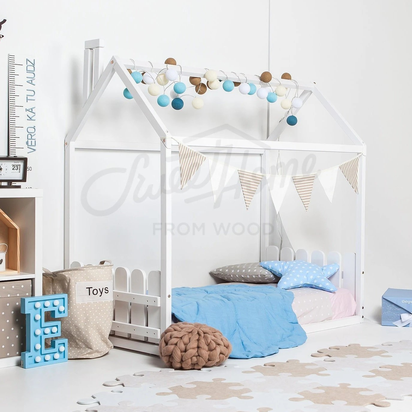 Tipi Bett 120x200 Childrens Bed Baby Bed Tent Beds Kids House Bed Children Bed Twin House Bed Kinderbett Bunk Bed Kids Teepee Twin Bed Frame Montessori Bett