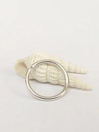14g single nipple ring nipple jewelry nipple piercing | Etsy