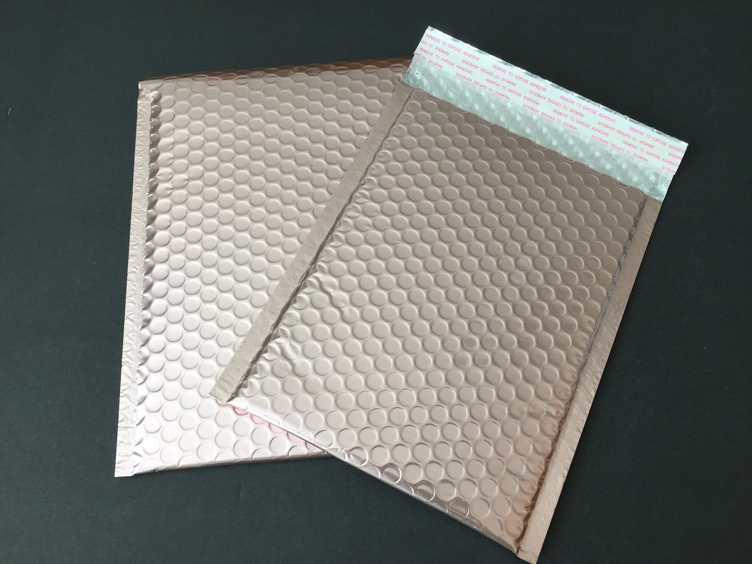 20 6x9 ROSE GOLD Poly Bubble Mailers Size 0 Self Sealing Etsy