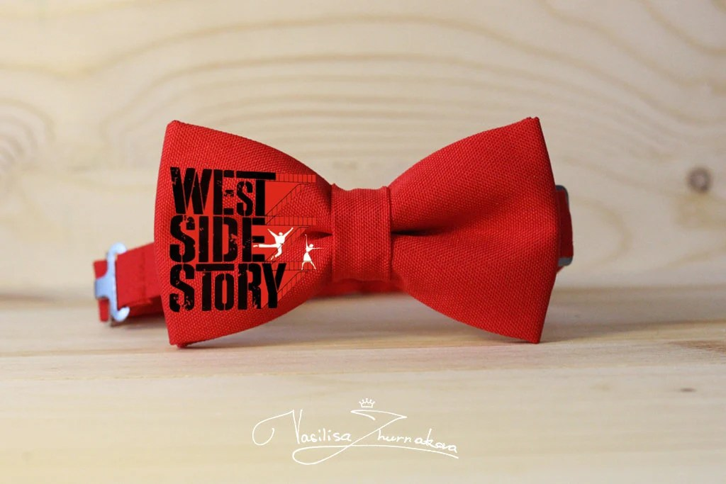 Custom Bow Tie Individual Bow Tie West Side Story Etsy