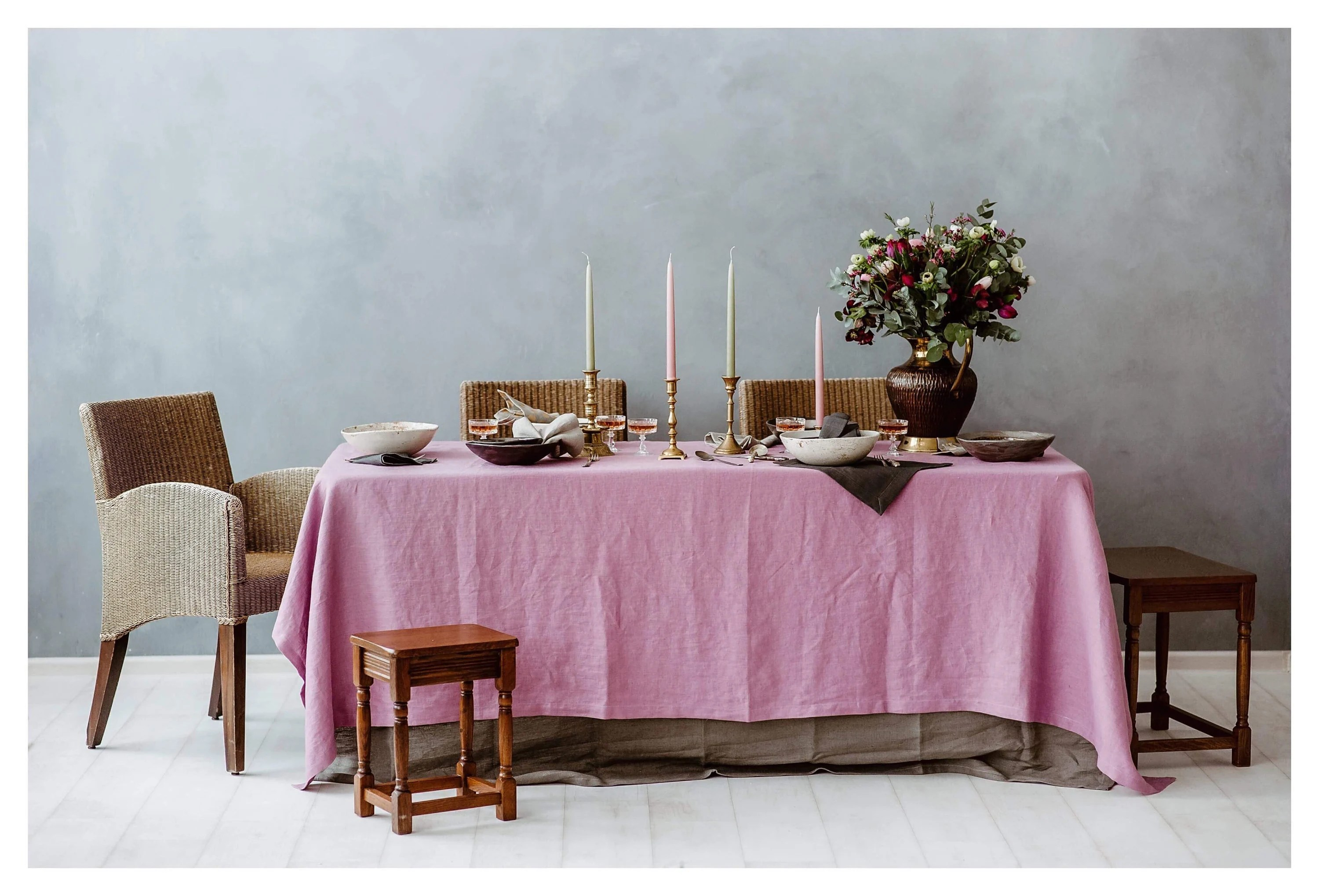 Christmas Tablecloths Australia Pink Linen Tablecloth Lavender Pink Tablecloth Natural Linen
