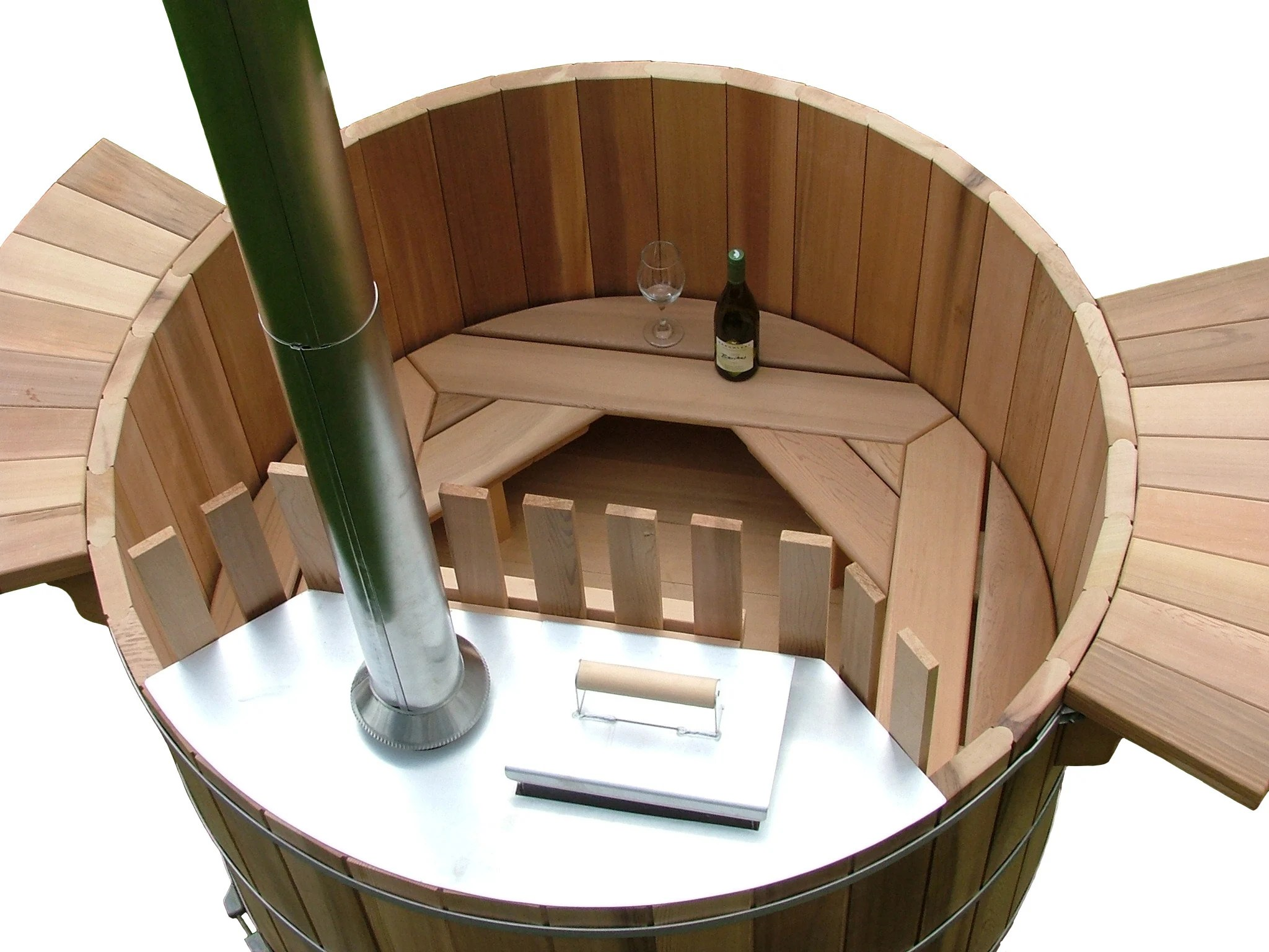 Cedar Wood Hot Tub Plans Diy Outdoor Spa Bath Relax Etsy