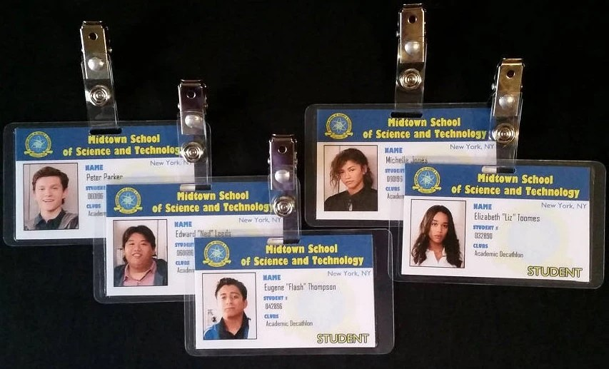 Midtown School of Science and Technology Student ID Cards Etsy