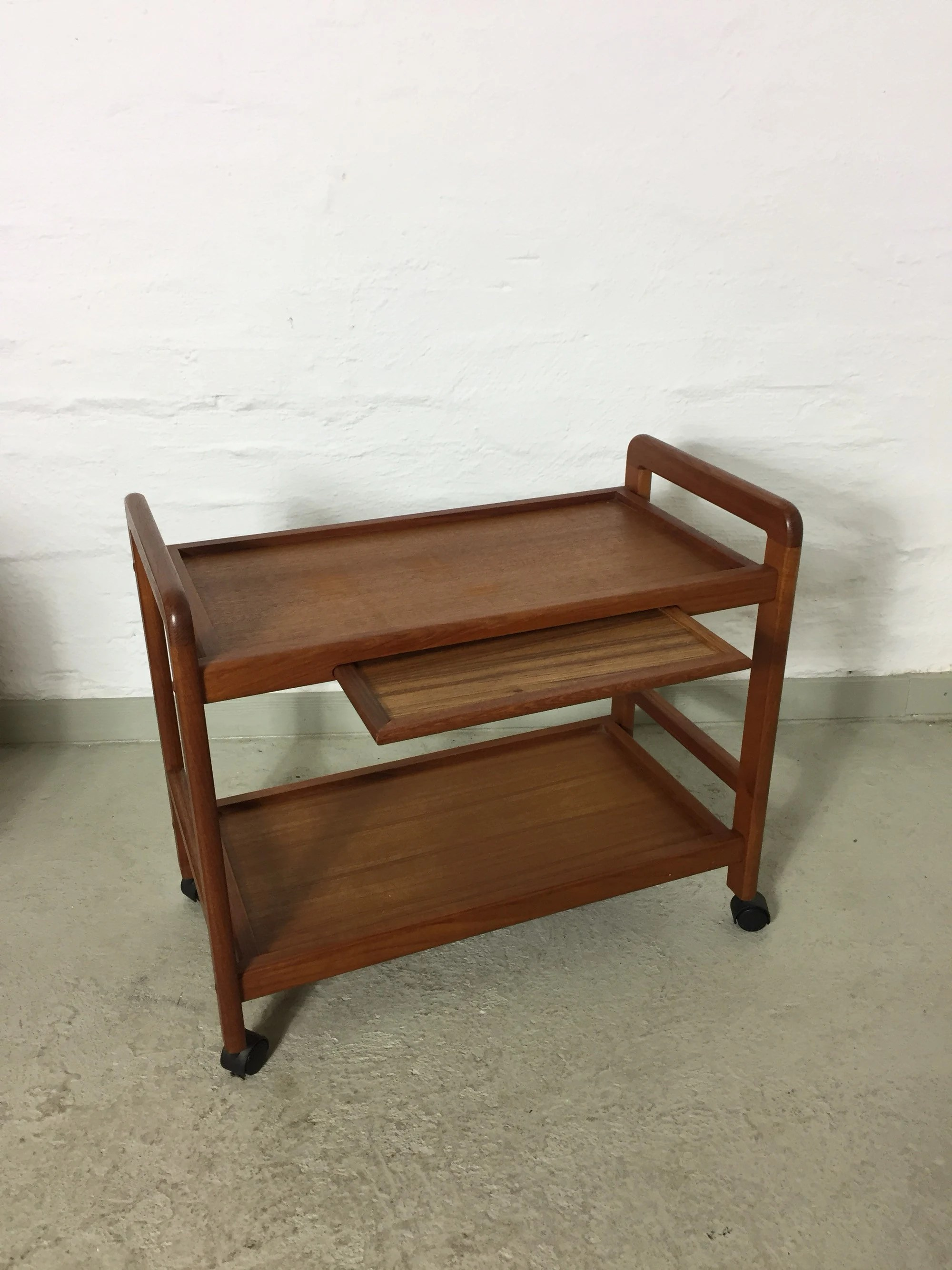 Teakholz Zoll Tea Trolley Van Teak 60 He Danish Design Vintage Teak Trolley Serving Trolley
