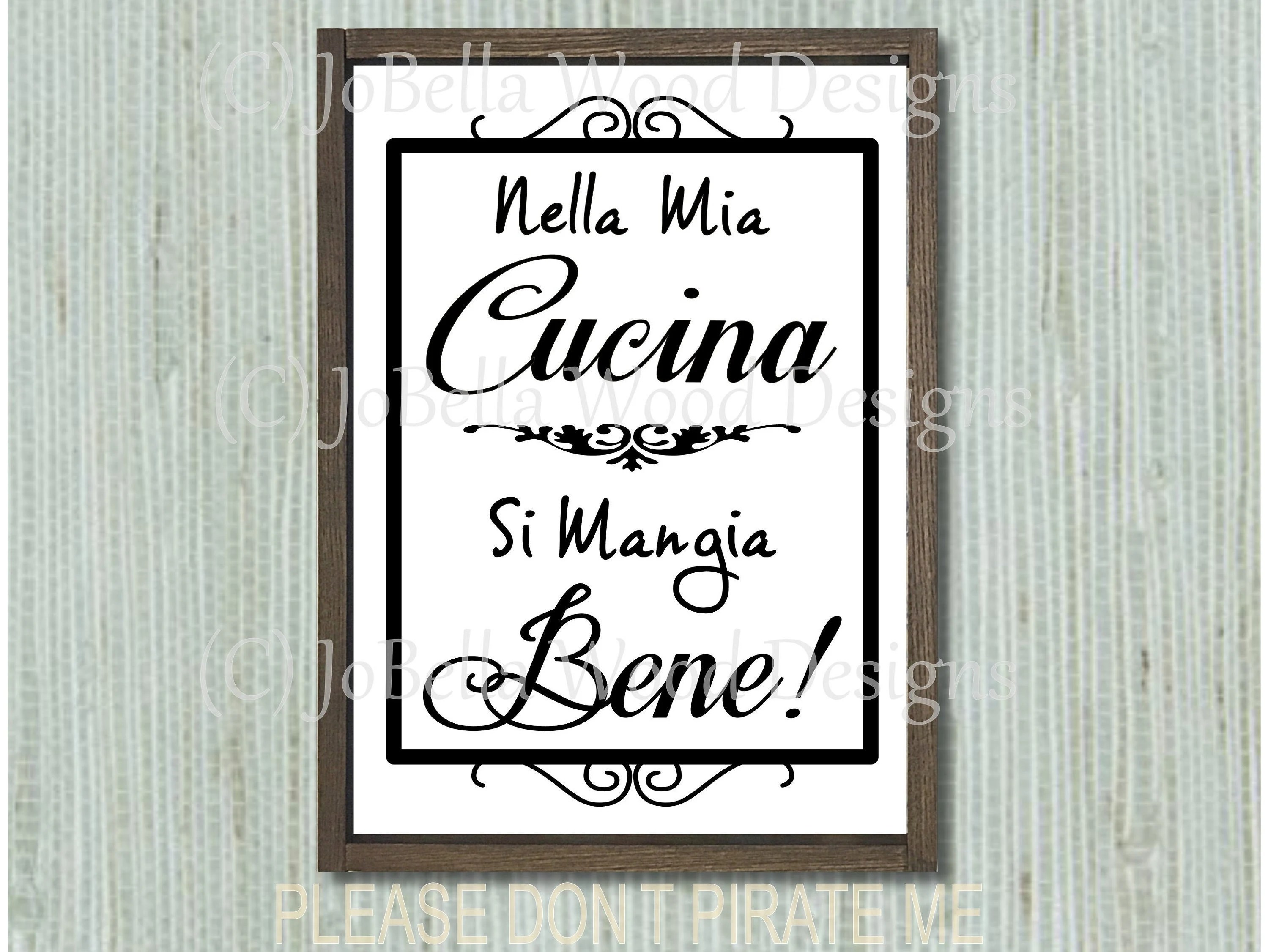 Nella Cucina Products Italian Svg And Printable Italian Printable Nella Mia Cucina Svg Cucina Printable Italian Kitchen Svg Italian Kitchen Printable Mangia