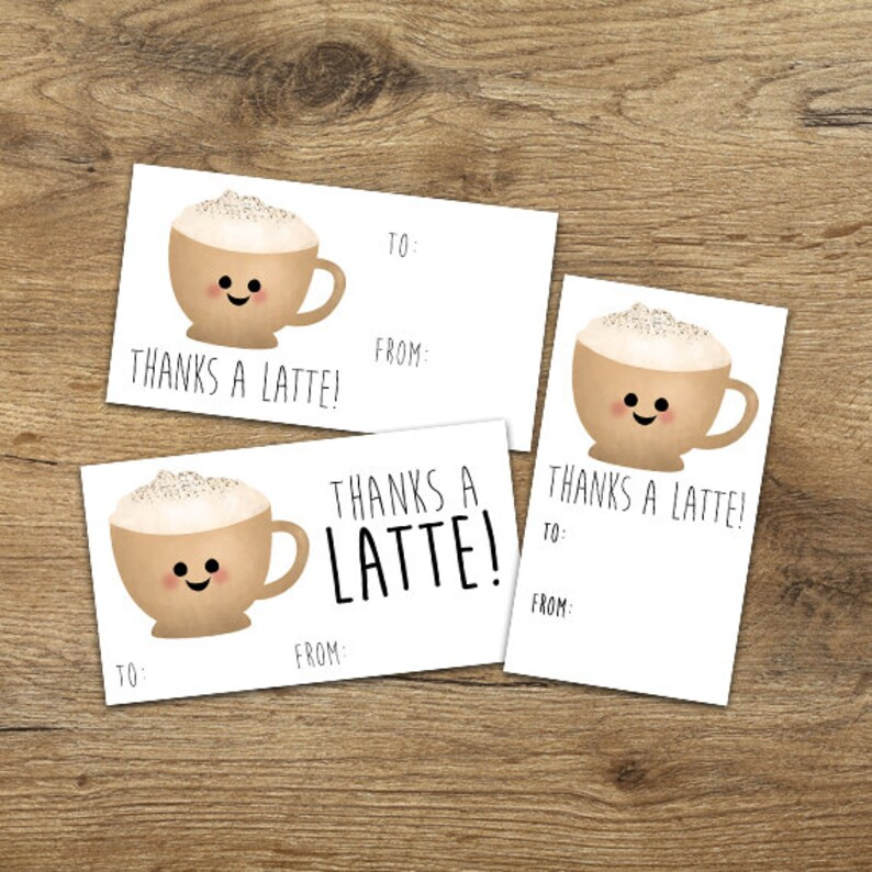 Thank You Digital Printable Gift Tags Set of 3 Designs Etsy
