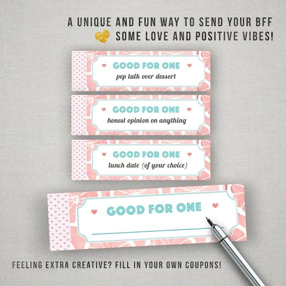 blank coupon book