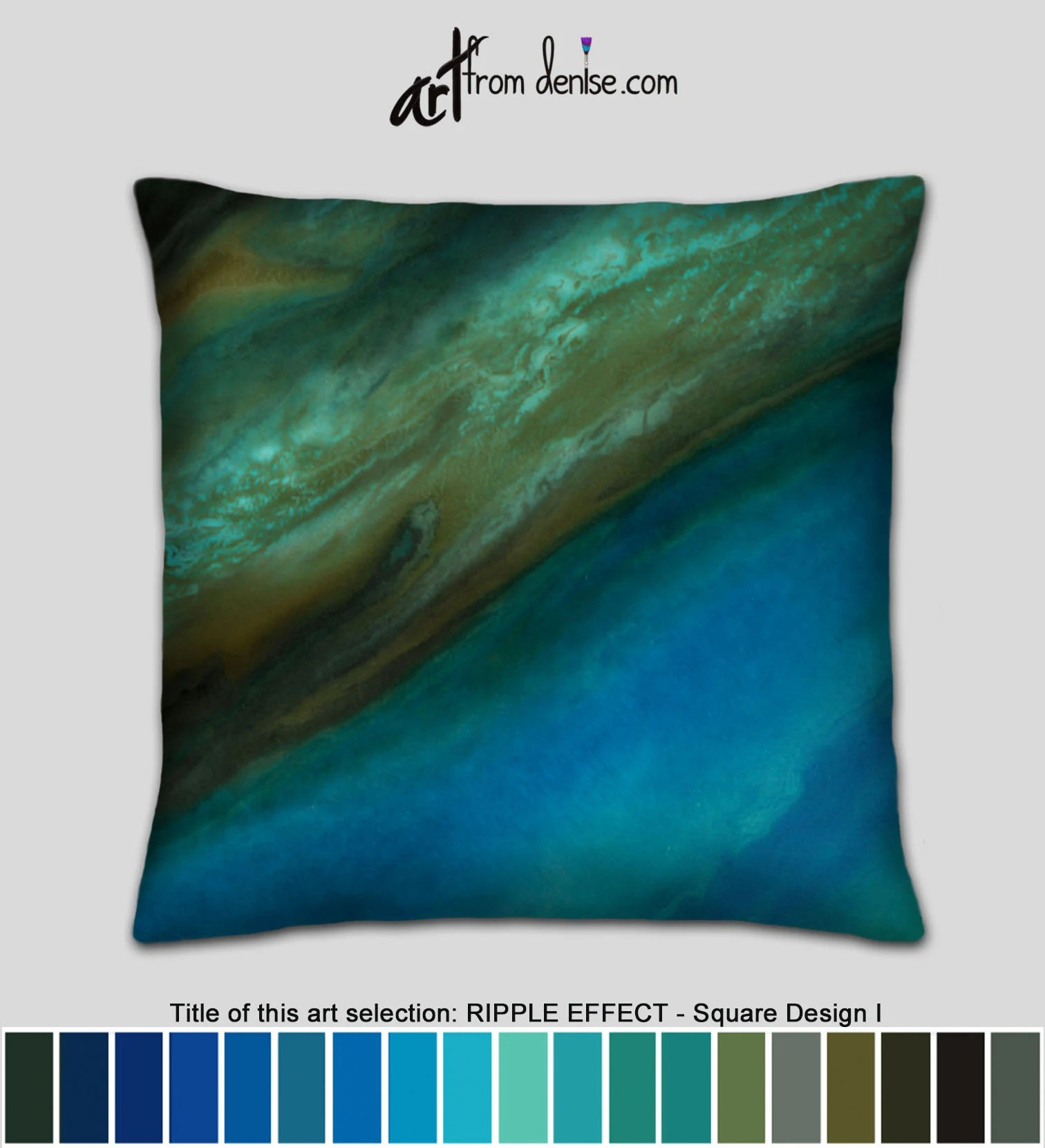 Big Couch Throw Gold Brown And Blue Throw Pillows For Bed Decor Big Couch Pillows Set Or Decorative Pillows For Outside