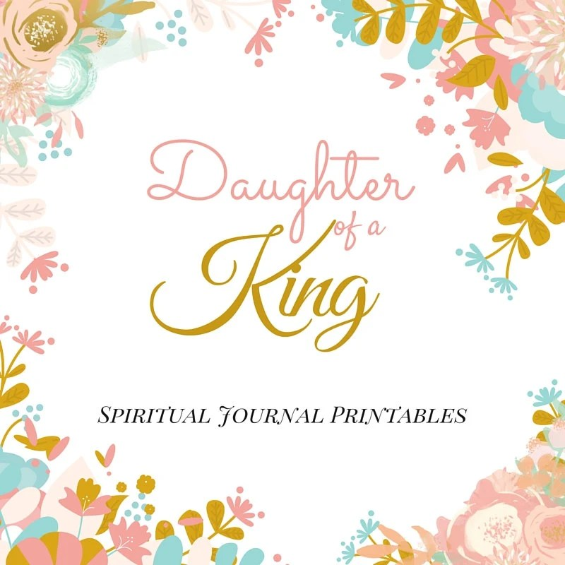 Spiritual Journal Printables for Daughters of a King Sunday Etsy