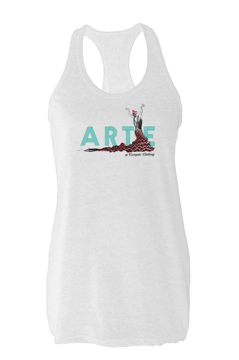Flamenco Arte Y Ole Arte Tank Top