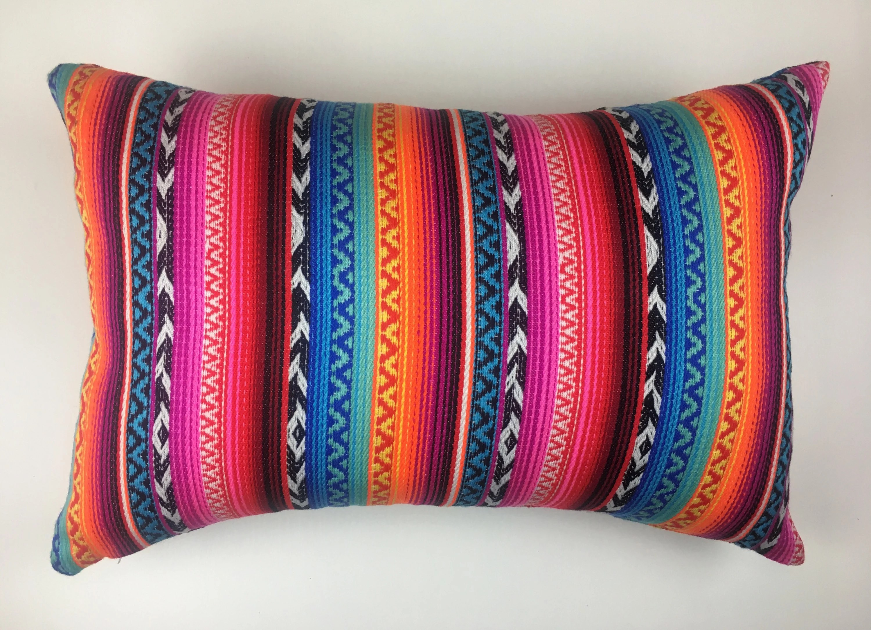 Boho Cushions Australia Aztec Boho Cushion Cover Mexican Poncho Multicoloured