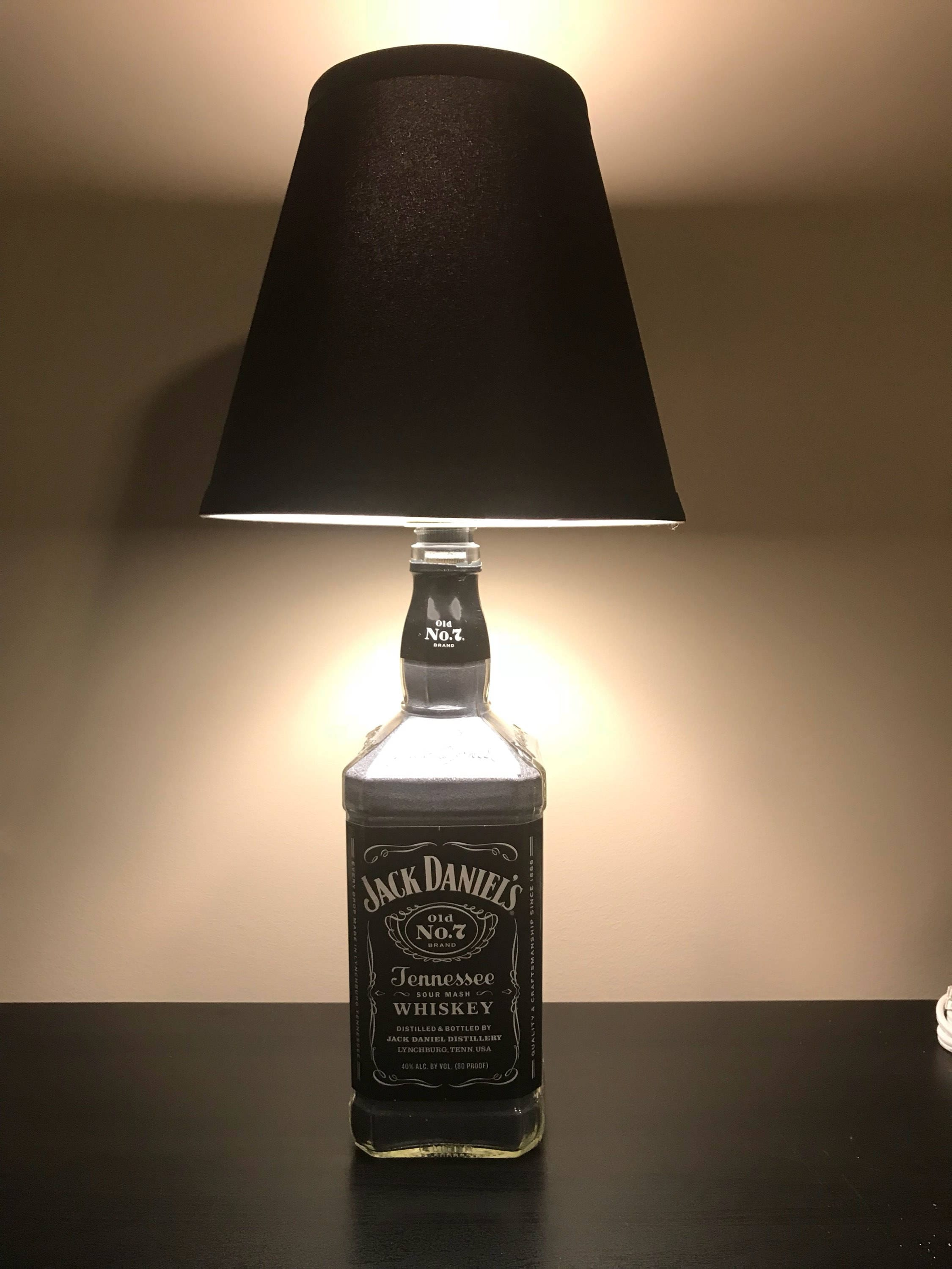 Jack Daniels Bettwäsche Jack Daniel S Bourbon Bottle Lamp