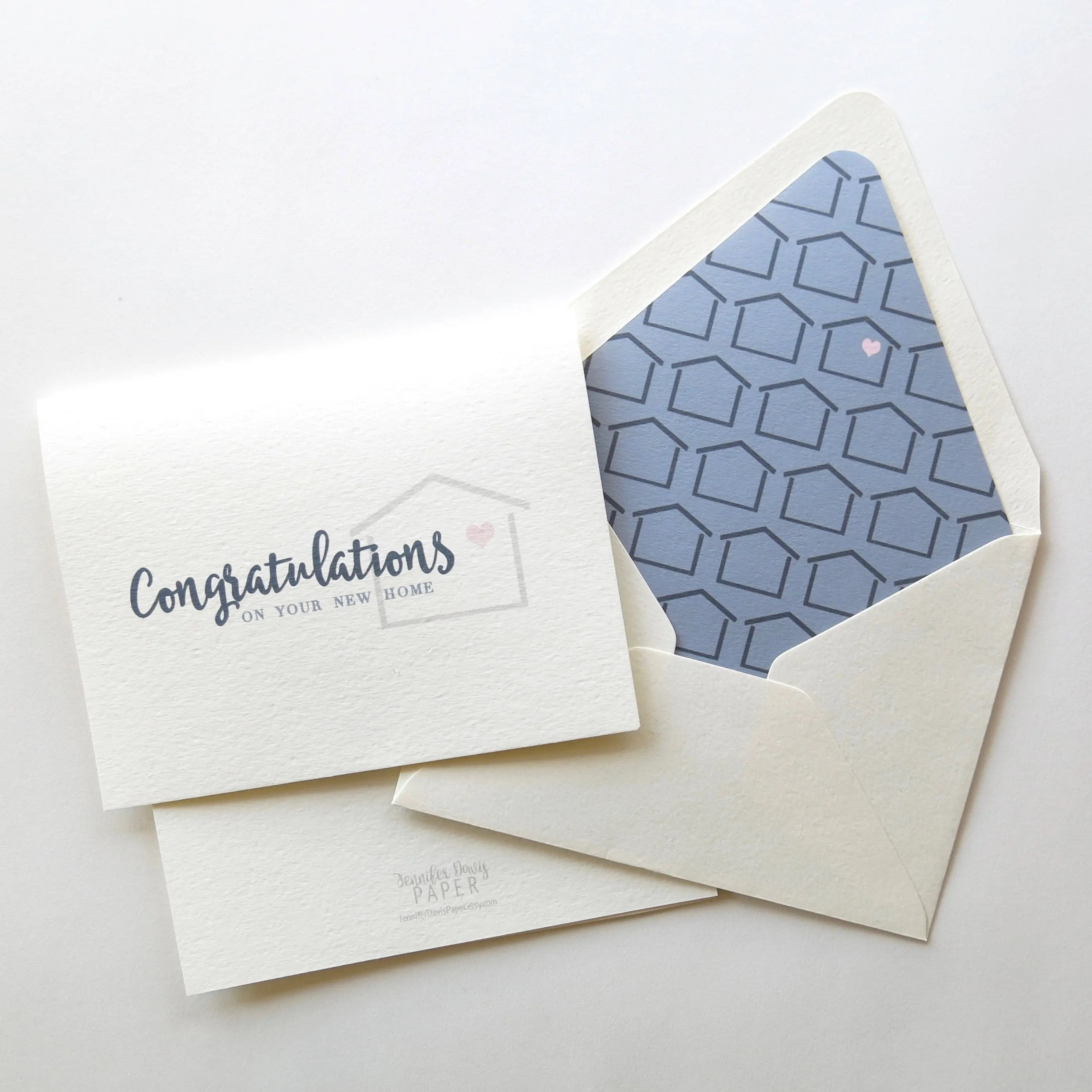 Congratulations on Your New Home Real Estate Agent Card Etsy