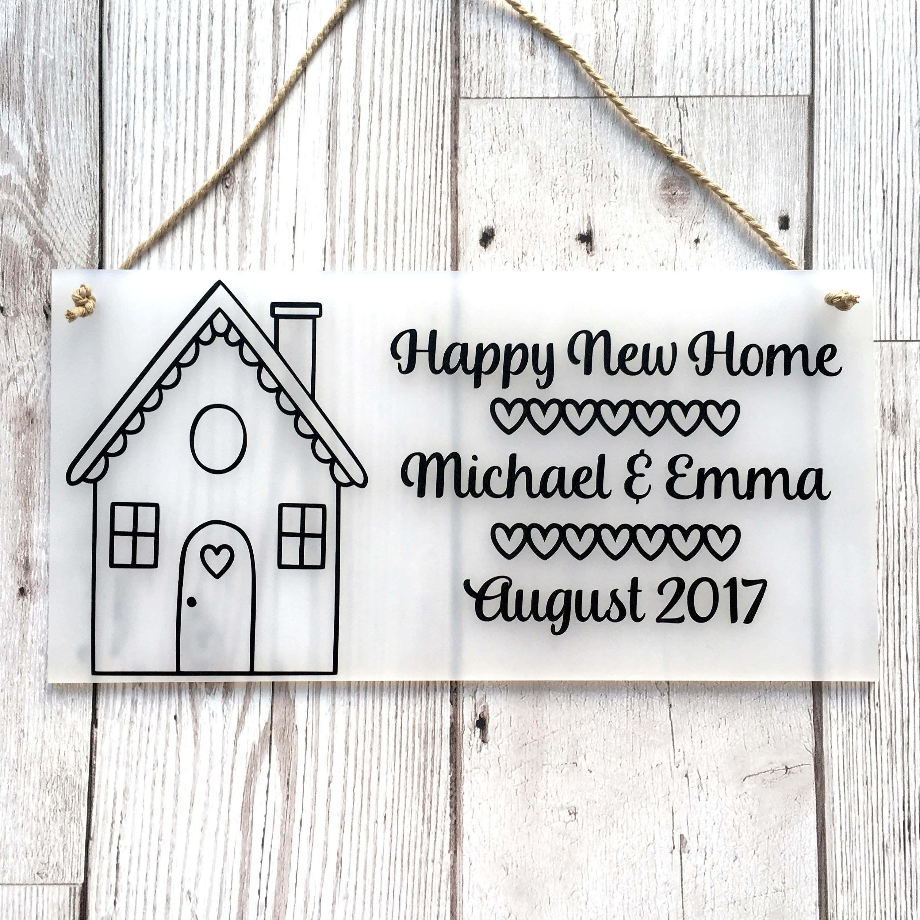 Personalised New Home Gifts New Home Gift House Warming Gift Personalised Home Plaque Personalised Home Sign Moving Home Gift New Home Plaque New Home Sign