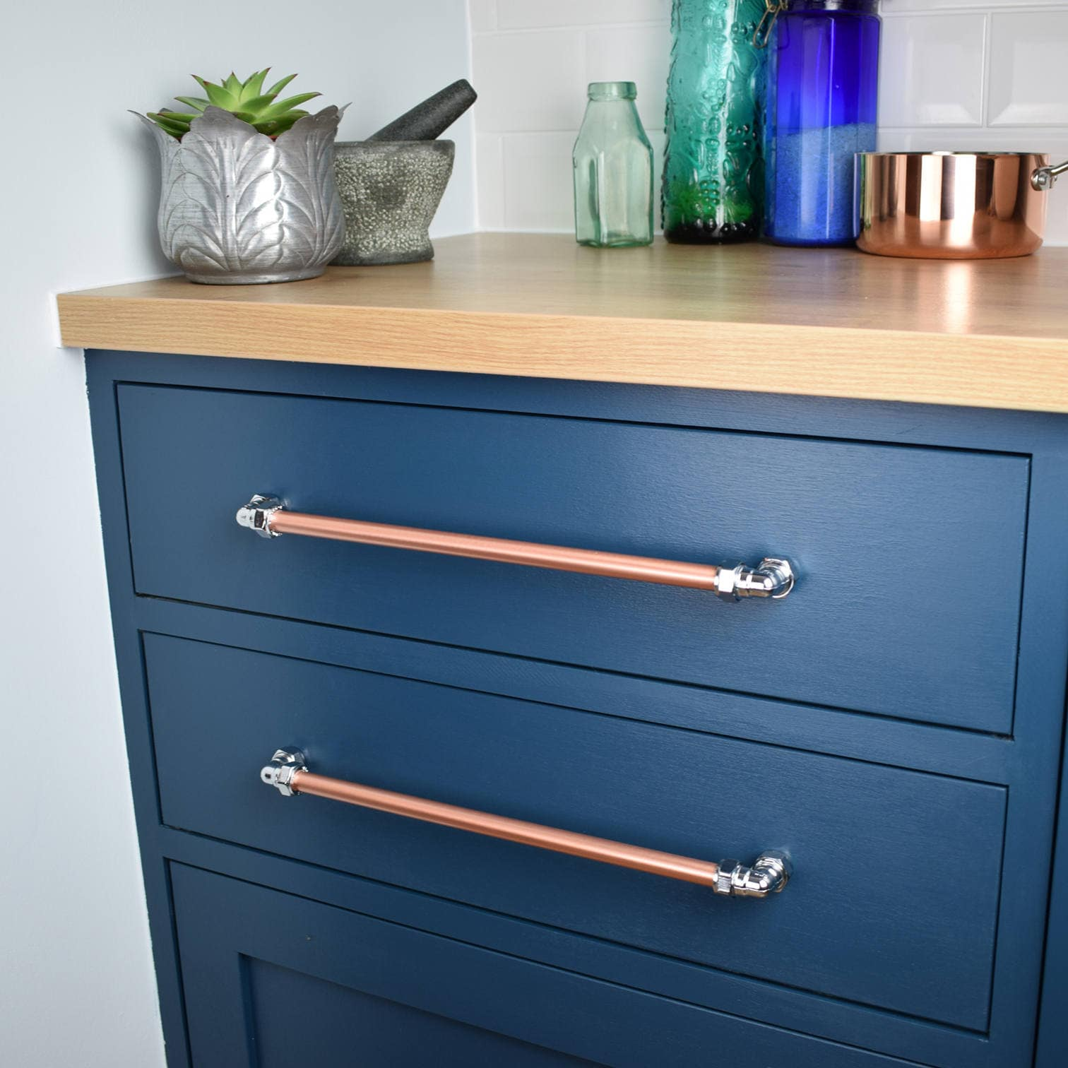 Kitchen Cabinet Drawers Industrial Copper And Chrome Pull Drawer Pulls Cabinet Hardware Kitchen Cabinet Pulls Kitchen Door Handles Copper Hardware Copper