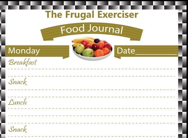 Food Journal Food Diary Weight Loss Journal Weight Loss Etsy
