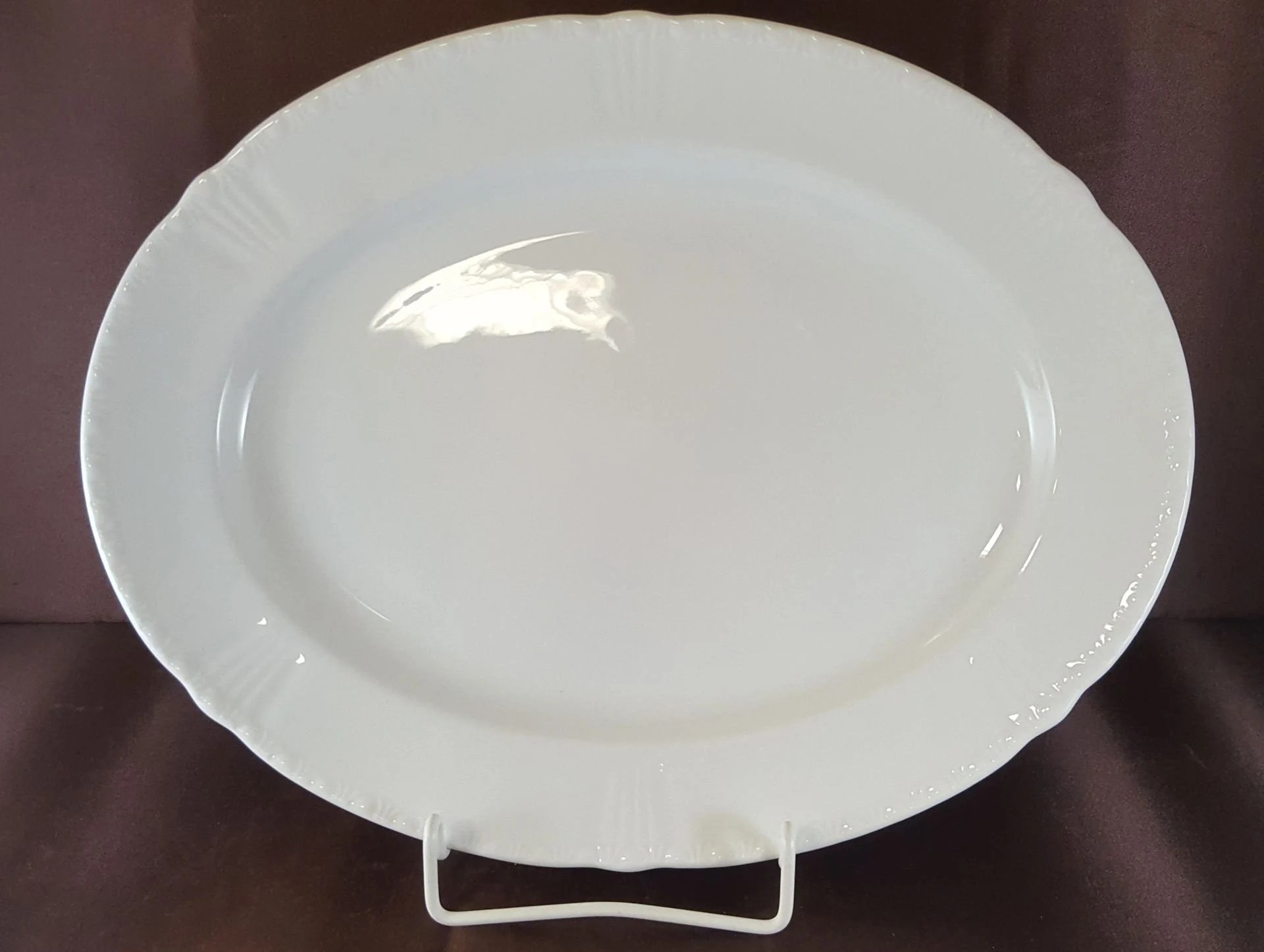 Formano Online Shop Formano Windsor White Meat Plate 33 5 Cm X 26 7 Cm