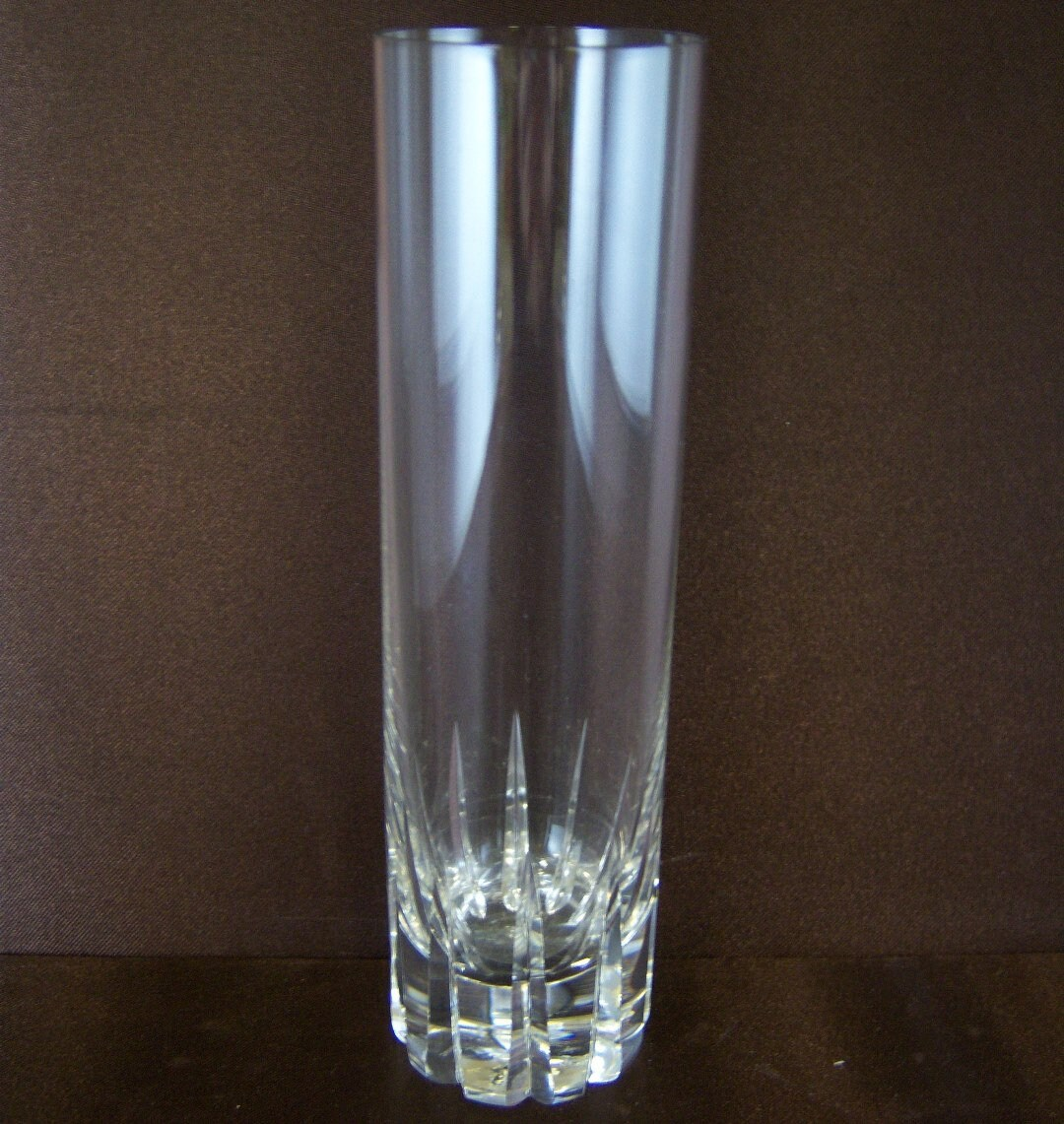 Kuchenteller Glas Rosenthal Studio Line Highball Glass Signed