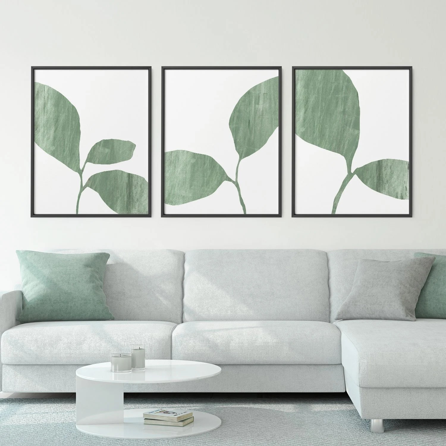 Olive Green Wall Decor Olive Green Botanical Prints Set Of 3 Prints Above Bed Decor Farmhouse Wall Decor Set Plant Prints Set