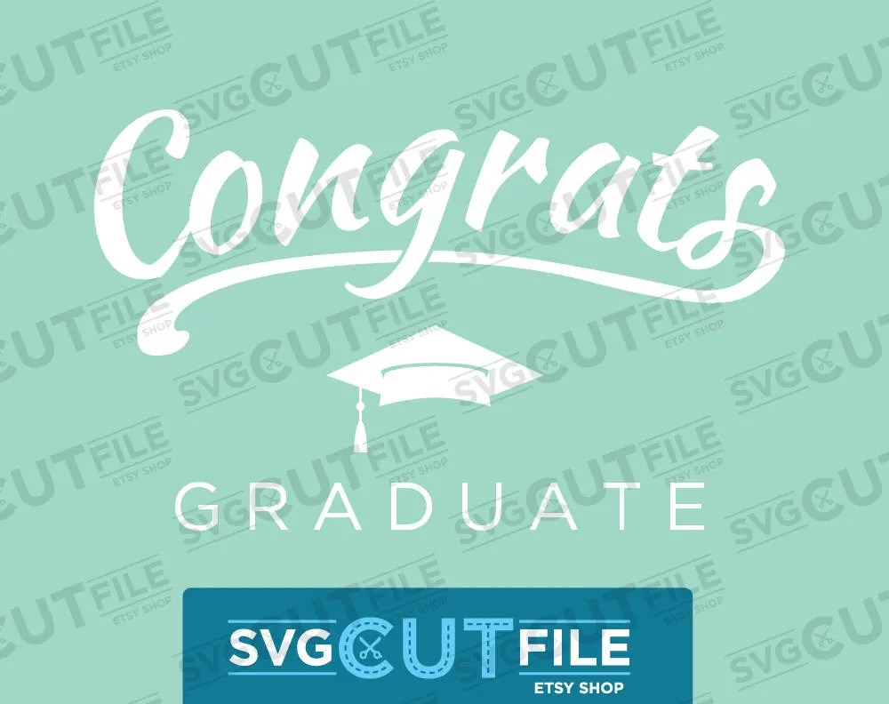 Class of 2019 Graduate Graphics with Graduation Cap with Etsy