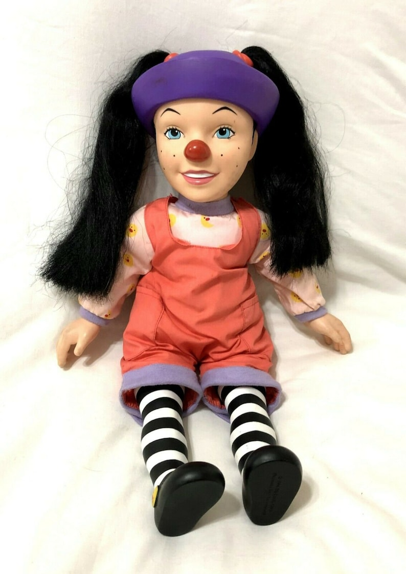 Big Couch Clown Big Comfy Couch Talking Loonette Stuffed Plush Doll 18