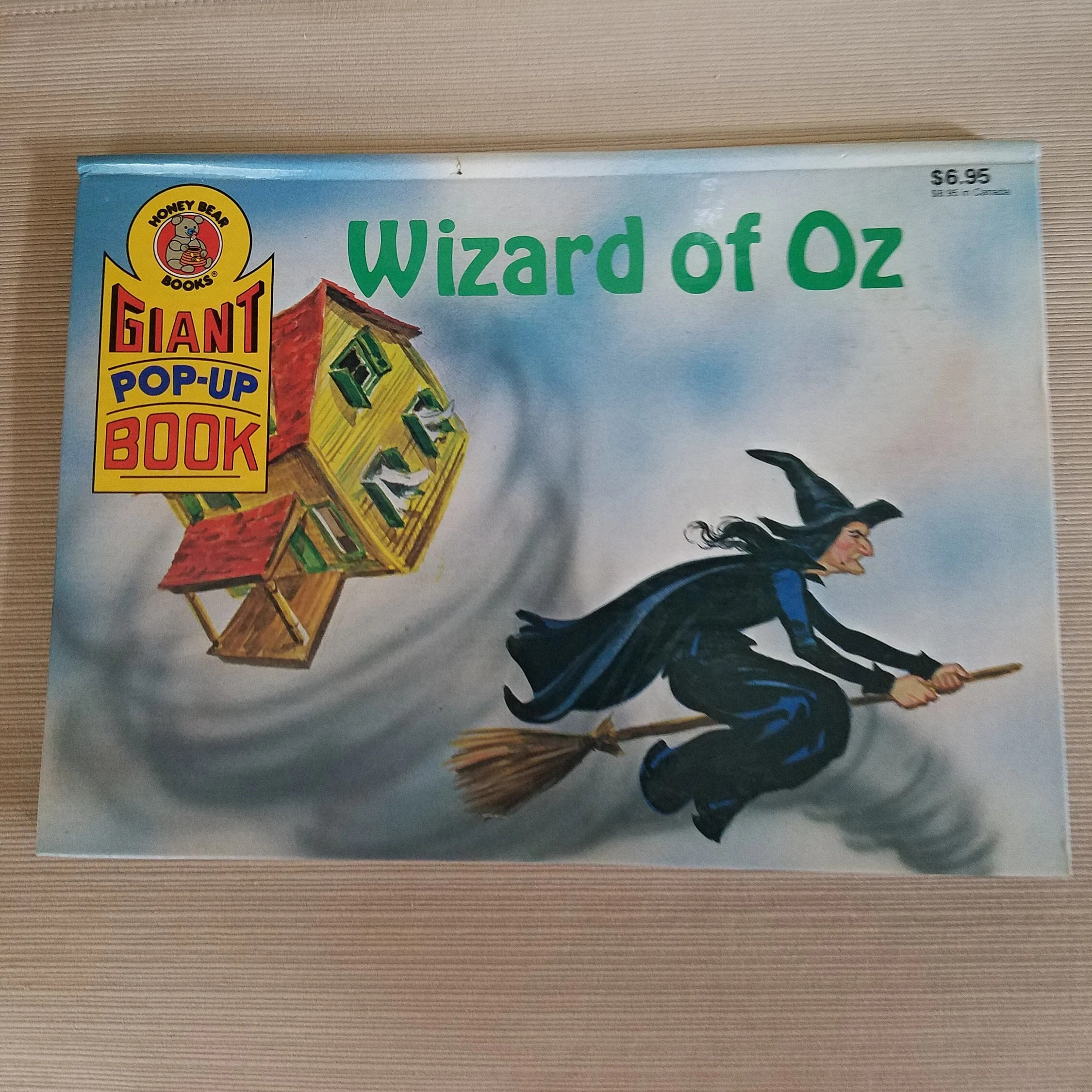 Pop Up Book Cover Wizard Of Oz Pop Up Book